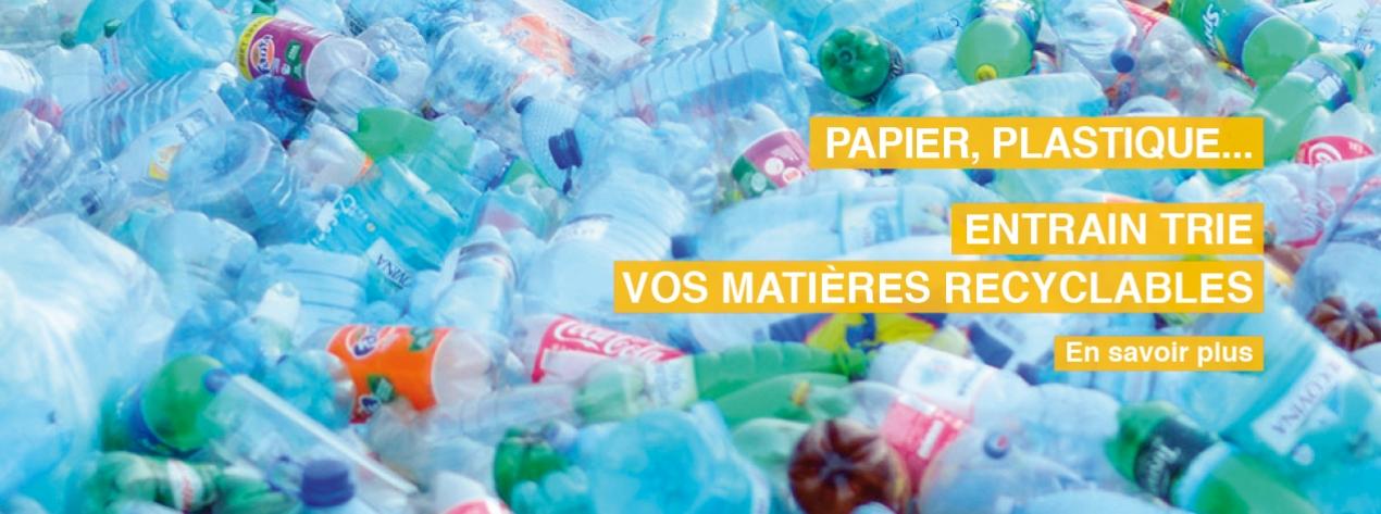Entrain tri et recycle